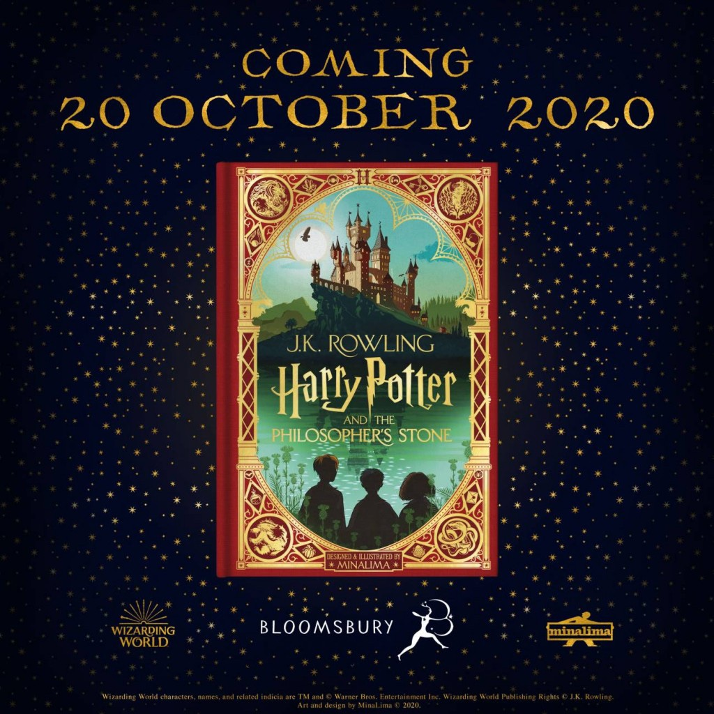 Harry Potter And The Philosopher's Stone - New Illustrated Edition