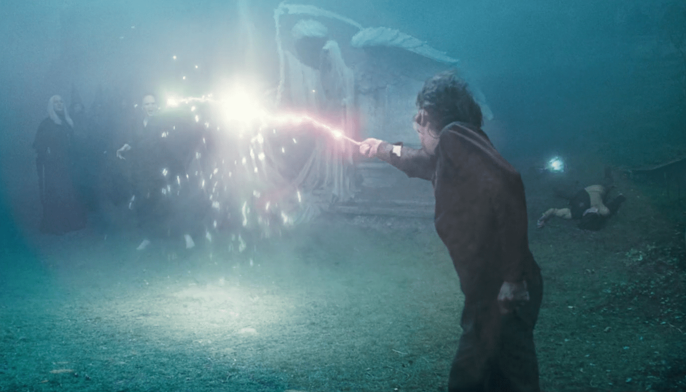 harry and voldemort duel