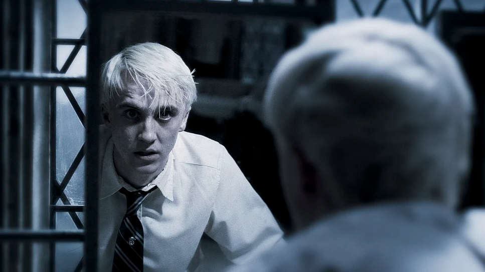 Harry And Draco Bathroom Duel - Most Iconic Moments In Harry Potter And The Half-Blood Prince