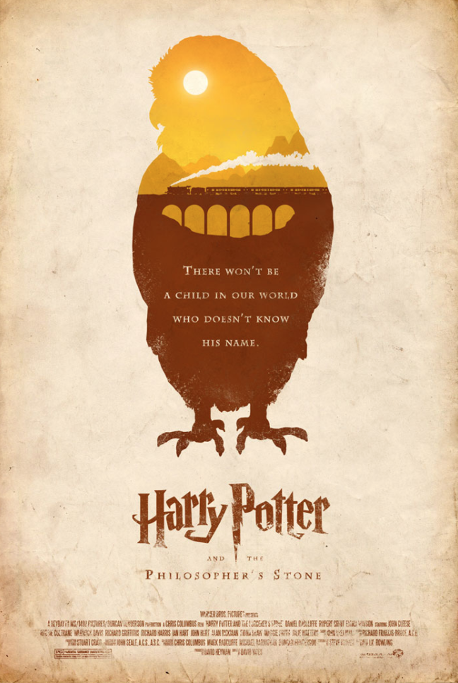 Harry Potter and the Philosopher's Stone by Adam Rabalais