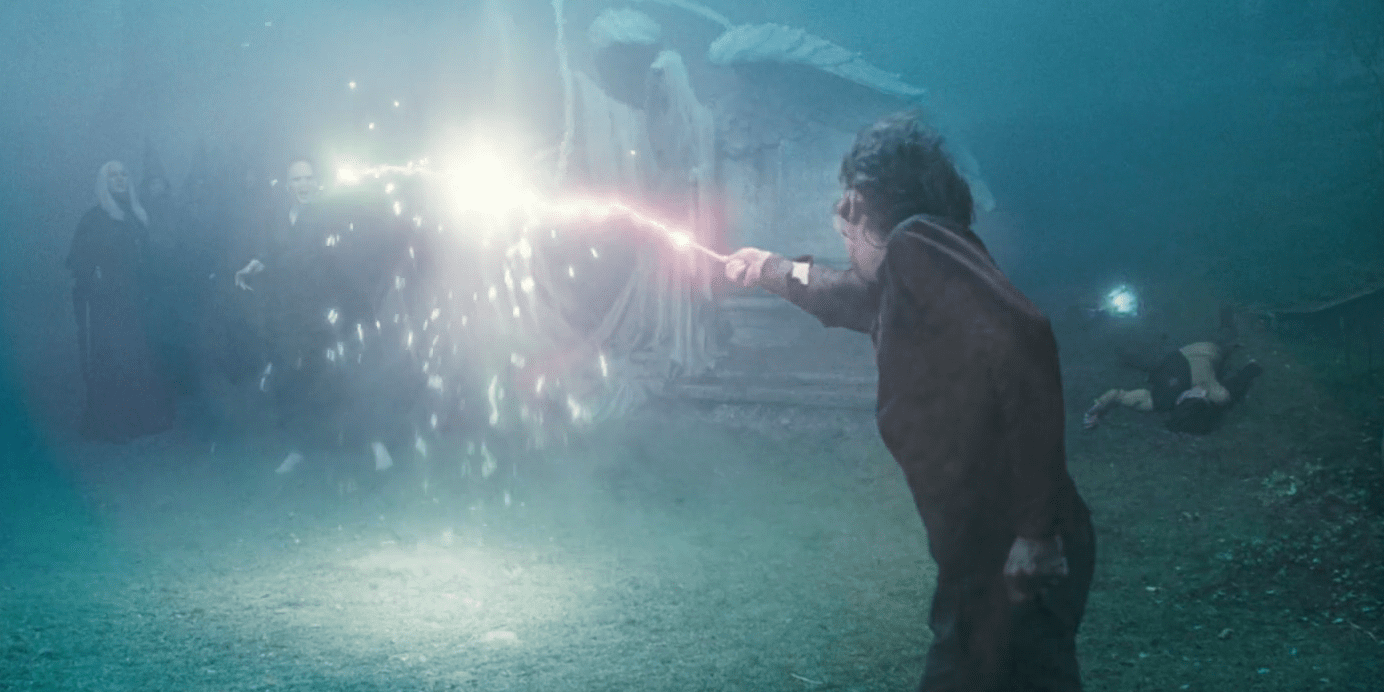 3. Harry Potter Vs. Lord Voldemort - Harry Potter And The Goblet Of Fire Cropped