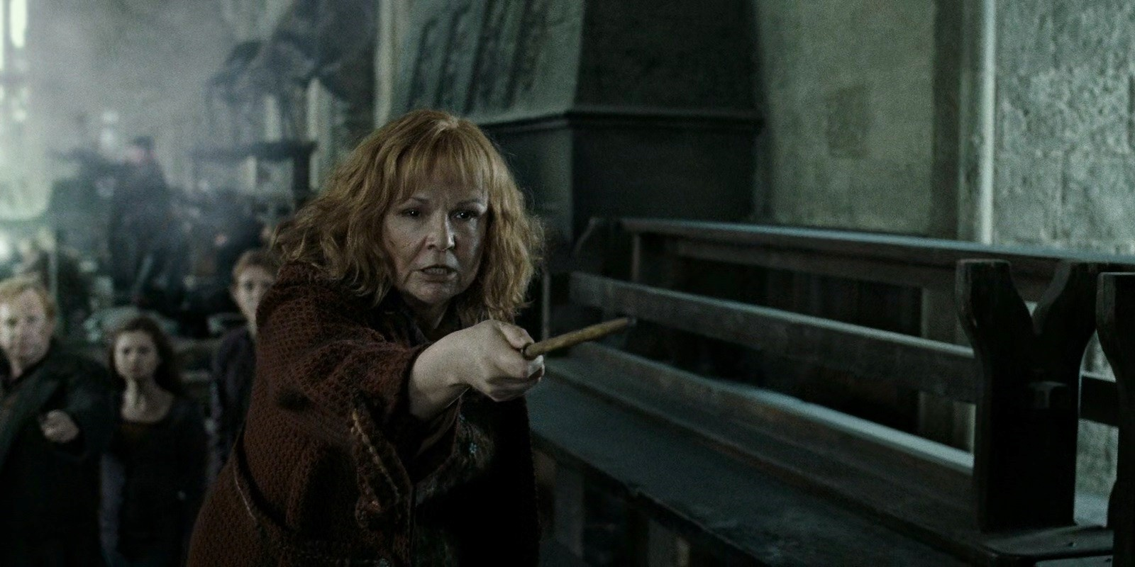 5. Molly Weasley Vs. Bellatrix Lestrange - Harry Potter And The Deathly Hallows - Part 2 Cropped