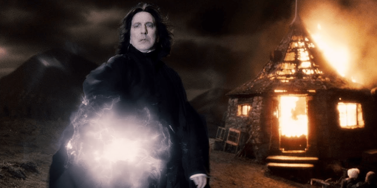 7. Harry Potter Vs. Severus Snape -Harry Potter And The Half-Blood Prince Cropped