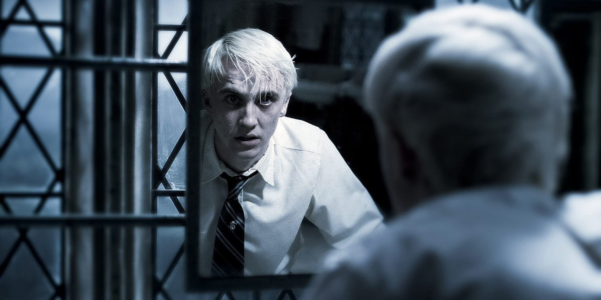 8. Harry Potter Vs. Draco Malfoy - Harry Potter And The Half-Blood Prince Cropped