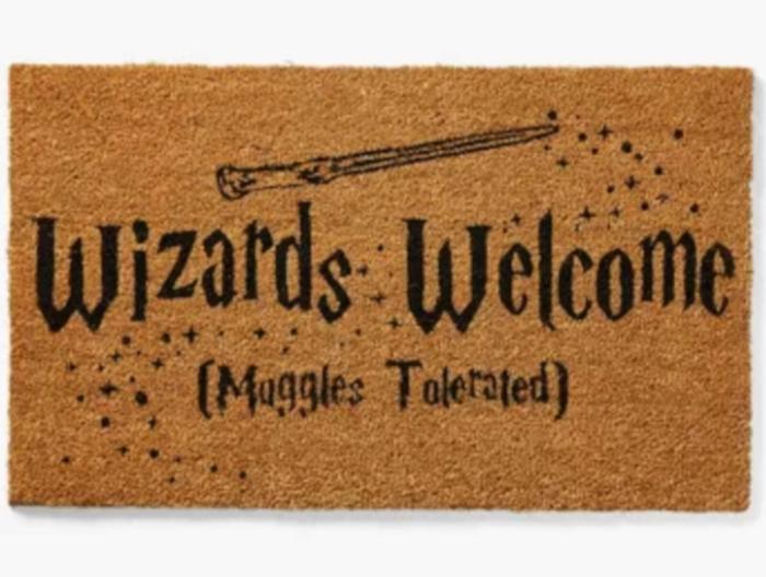 Harry Potter Wizards Welcome Door Mat